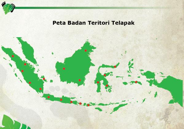 Peta BT Telapak