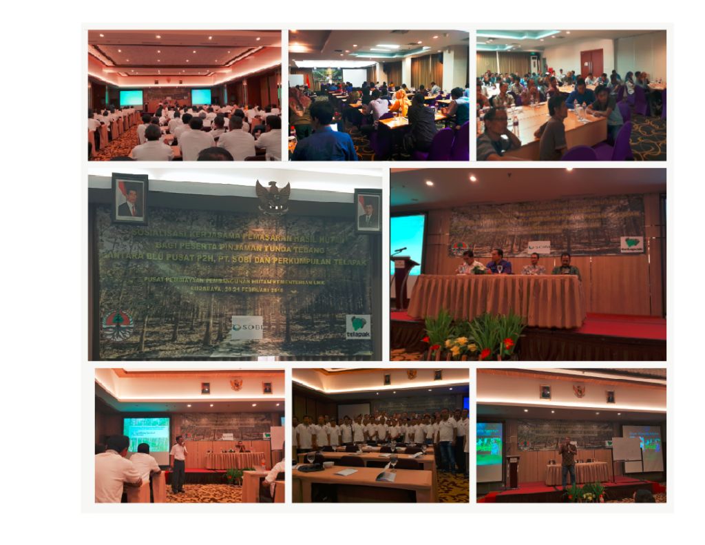 Information Dissemination of Tripartite Cooperation Between Telapak, BLU P2H, and PT. Sosial Bisnis Indonesia Held In 3 Provinces (Surabaya, Solo, and Bandung) on March 2018